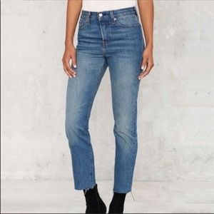 NWT sale Levi's Wedgie Fit straight leg mom  jeans